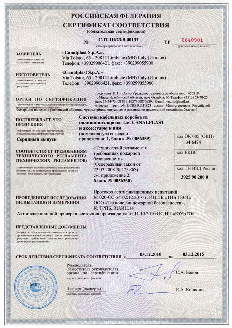 Сертификат Пвх Изделия скачать
